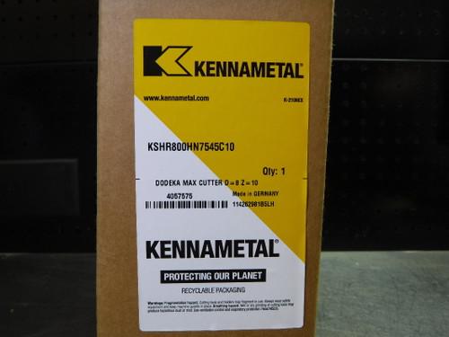 "Kennametal DODEKA 8"" Indexable Facemill 2.5"" Arbor KSHR800HN7545C10  (LOC1412A)"