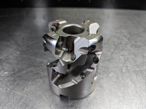 """Ingersoll 2"""" Milling Cutter for Radius Inserts 3/4"""" Arbor 25J3P-20023D1R02-R (LOC2514)"""