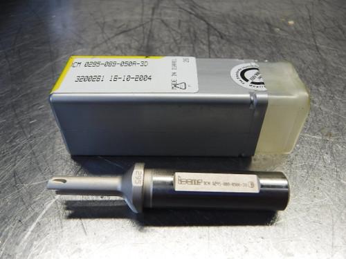 "Iscar 0.295"" - 0.862"" Indexable Drill 1/2"" Shank DCM 0295-089-050A-3D (LOC1000B)"