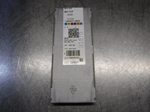 Iscar Carbide Inserts QTY10 HBR D.75-QF IC328 (LOC2112B)