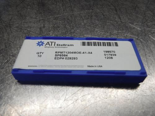 Stellram Carbide Inserts QTY10 RPMT1204MOE-41-X4 SP6564 (LOC1253C)