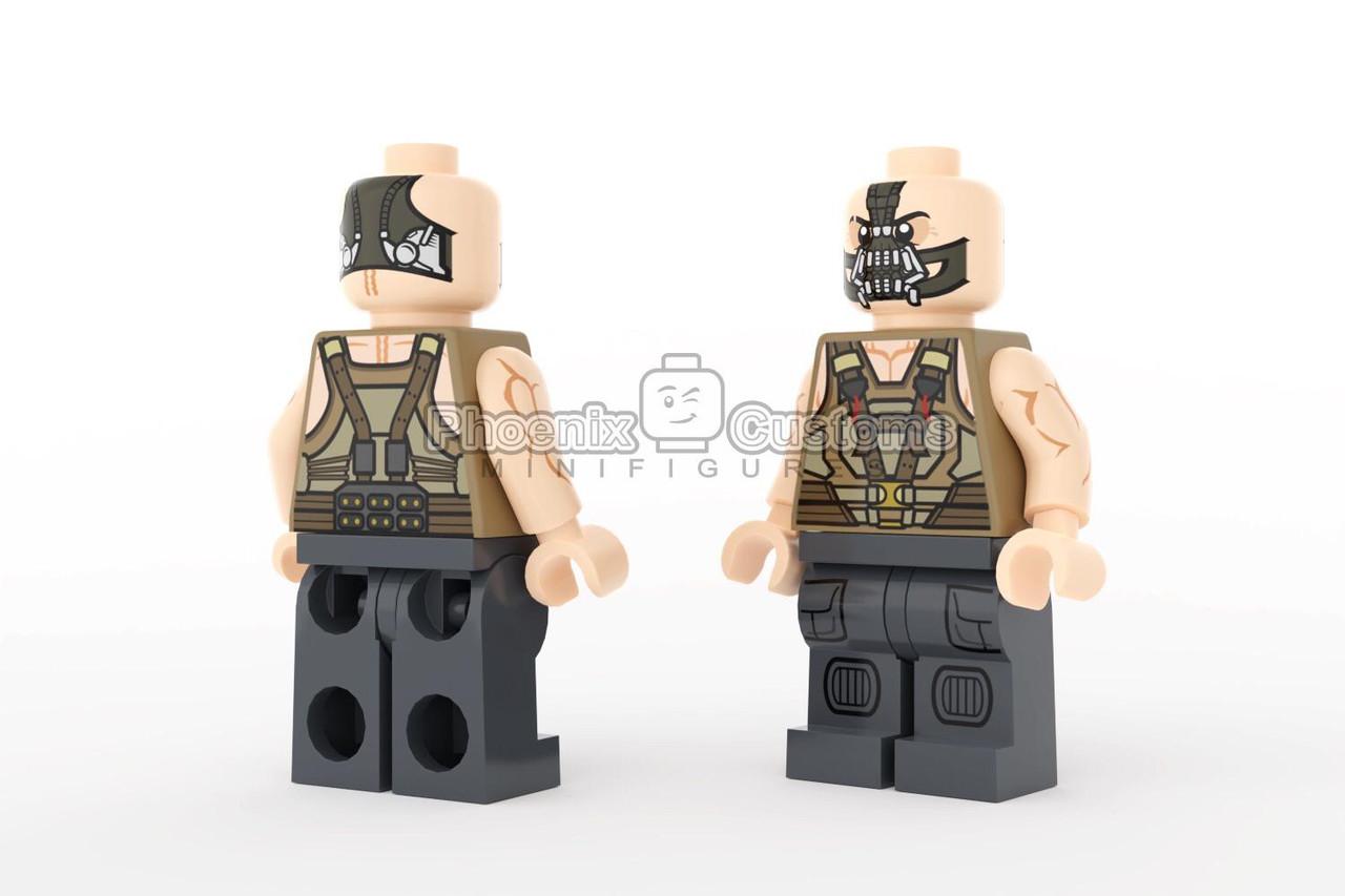 Authentic Original LEGO Batman Villain Bane Minifigure Brand New!