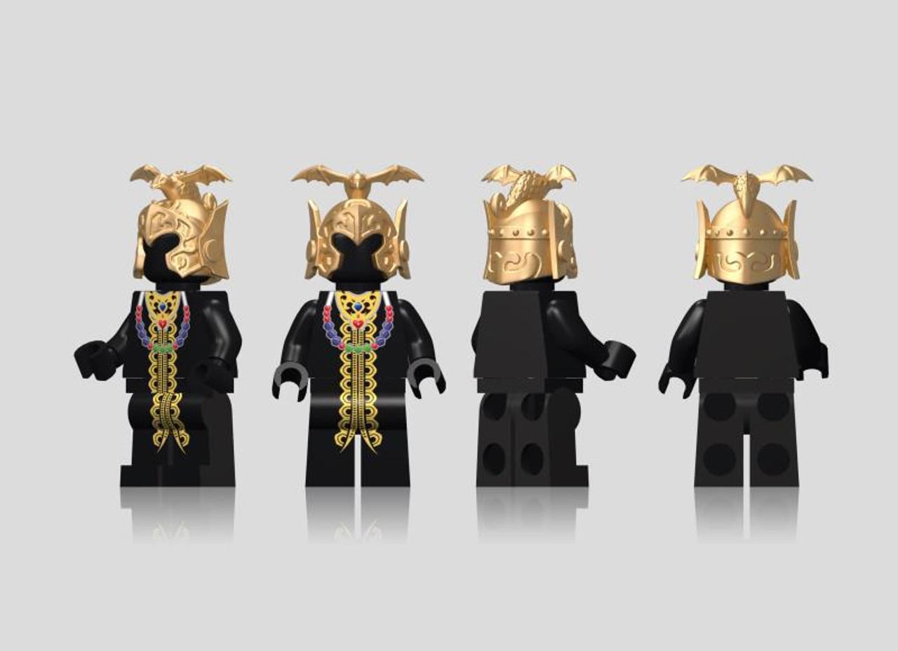 NEW MIINIFIGURES lego MOC Super Heroes Single Sale Knights of the Zodiac Saint S