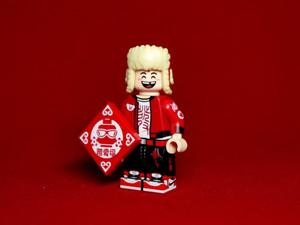 Custom Minifigure Life Brick Chinese New Year Piggy Man