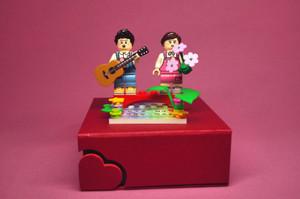 Custom Minifigures Life QiXi Lovers