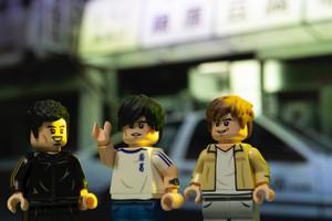Custom Minifigures Life Initial D 3 character set