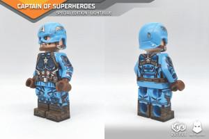 Custom Minifigures Minfinity MA Figure Captain of Super Heroes (Special Ver)