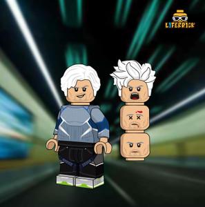 Custom Minifigures Life Brick Bullet Silver