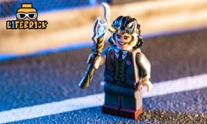 Custom Minifigures Life Brick President Loki