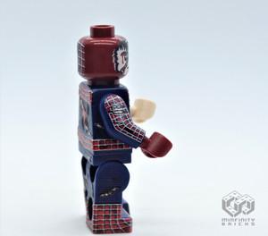 Custom Minifigures Minfinity Spider-Man, Battle damaged version