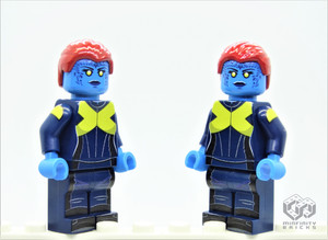 Custom Minifigures Minfinity Mystique, X-Men series