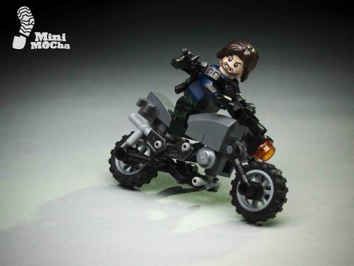 Digital Photo Winterhero Motorcycle 01