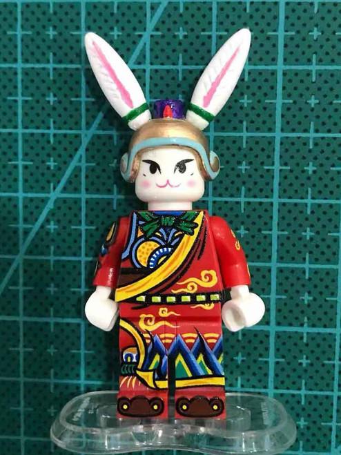 Custom Minifigure Chocolate Brick Robbit God Helmet (ONLY)