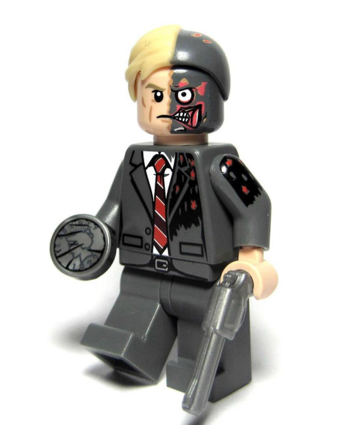 Custom Minifigure Phoenix Fiftyfifty