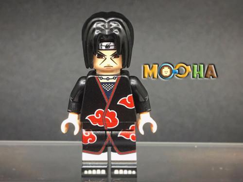 Custom Minifigures MiniMOCha Itachi