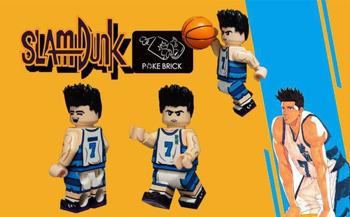 Custom Minifigures Poke Brick Slambunk Sendoh