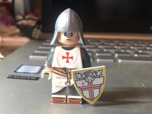 Custom Minifigures MiniMOCha Preorder Vintage Crusader