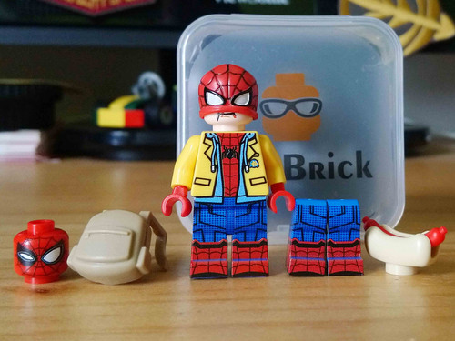 Custom Minifigures Life Brick Far-From Home Spidey