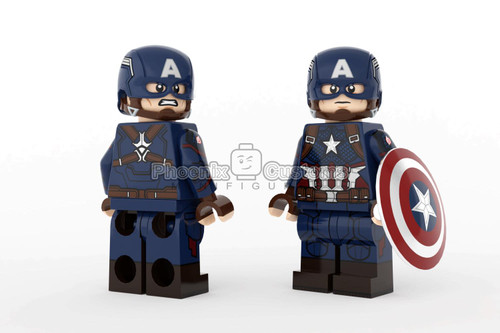 Phoenix Custom Minifigures Ultimate Super Soldier