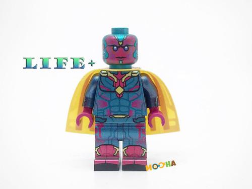 Custom Minifigure  LIFE PLUS Illusion Preorder Phrase 1