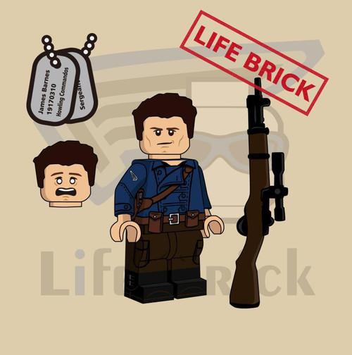 Custom Minifigures Life Brick Captain Bro