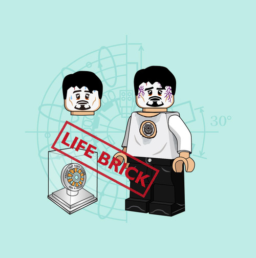 Custom Minifigures Life Brick Fallenheart