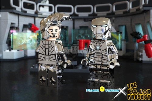 Custom Minifigures Phoneix The Ka.Lor Project Steelman Set