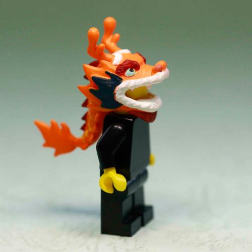 Custom Minifigures Chocolate Factory Dragon Helmet