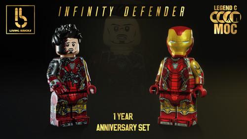 Custom Minifigures LCM Infinity Defender