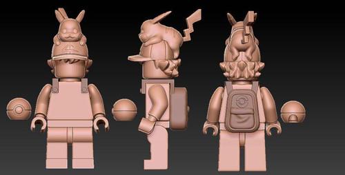 Custom Minifigures H.Dou Brick Pocket Pet Trainer Preorder