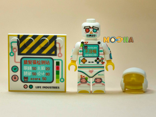 Custom Minifigures Life Brick Failure Robot