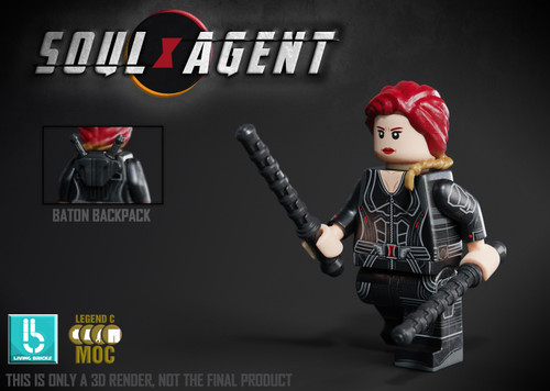 Custom Minifigures LCM Soul Agent