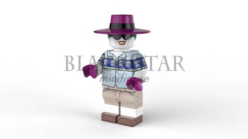 Custom Minifigures Black Star Clown