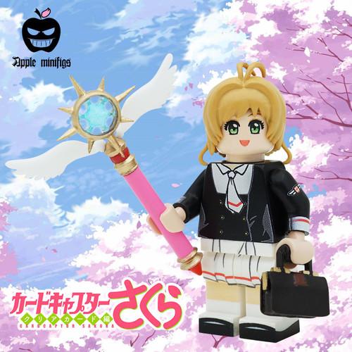 Custom Minifigures Apple Variety Sakura