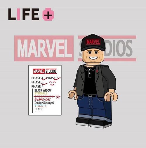 Custom Minifigures Life Brick  MCU President
