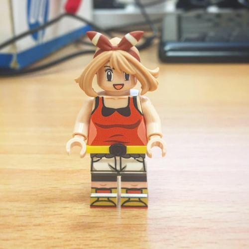Custom Minifigures H.Dou Brick May ハルカ Pet Trainer