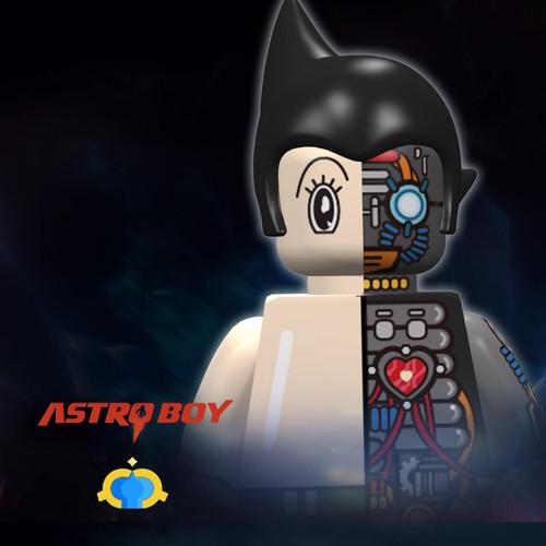 Custom Minifigures FantasticLamp Astroboy