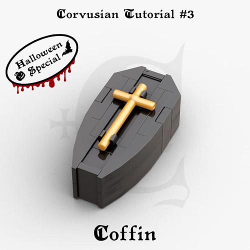 Cesar Corvus Auriac MOC Tutorial Free Coffin Digital Building Instruction