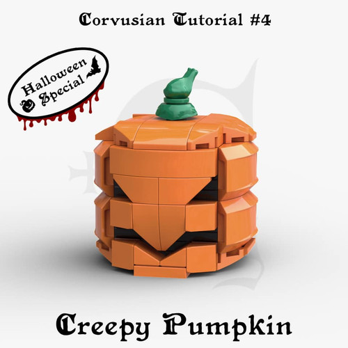 Cesar Corvus Auriac MOC Tutorial Free Pumpkin Digital Building Instruction