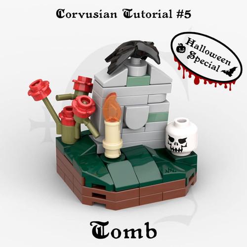 Cesar Corvus Auriac MOC Tutorial Free Tomb Digital Building Instruction