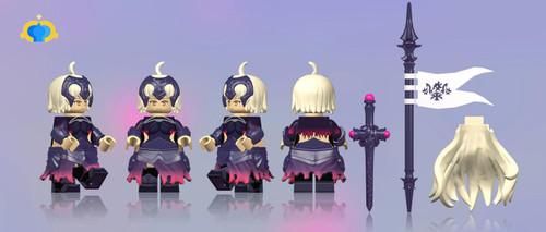 Custom Minifigures FantasticLamp Jeanne Alter Fate