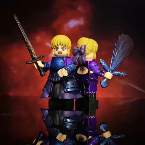 Custom Minifigures Cosmos Dark Knight Saber