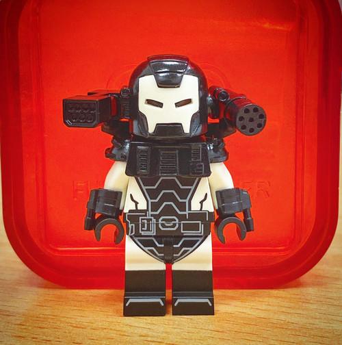 Custom Minifigures Funny Brick War Machine Comic Version