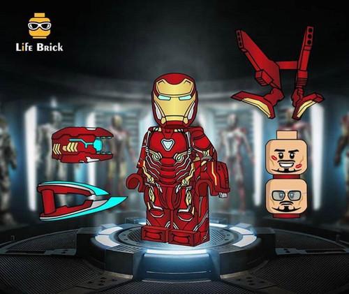 Custom Minifigures Life Brick MK50
