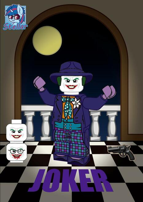Custom Minifigure Stella Joker