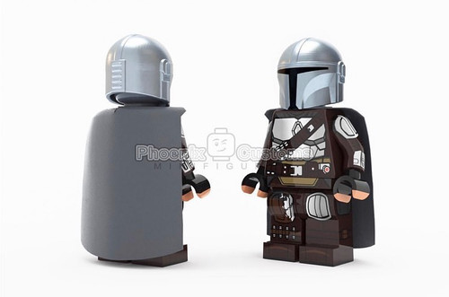 Custom Minifigures Phoenix Custom Galactic Bounty Hunter Set