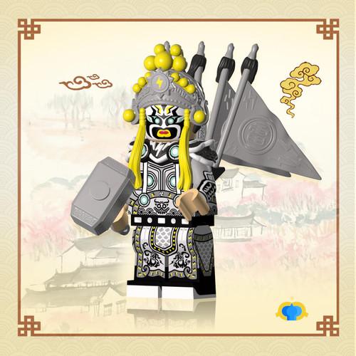 Custom Minifigures Fantastic Lamp Opera Thor