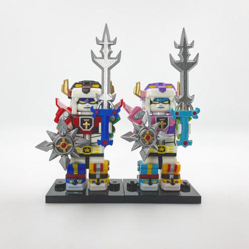 Custom Minifigures FJ Brick Voltron Force Set
