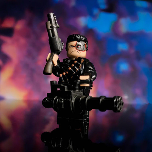Custom Minifigures MJ The Terminator