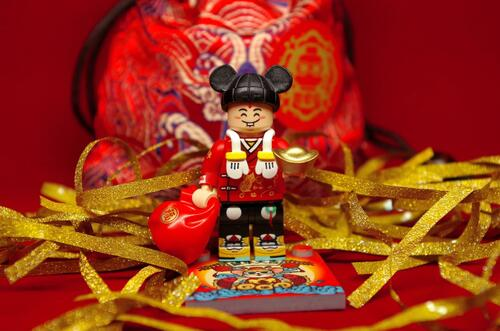 Custom Minifigures Life Brick Mickey Minifigure